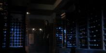 Luthor Mansion wine cellar