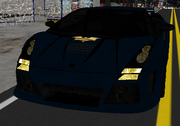 Batmobile exterior