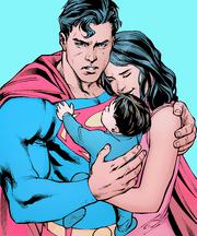 Clark and his family Lois Jon
