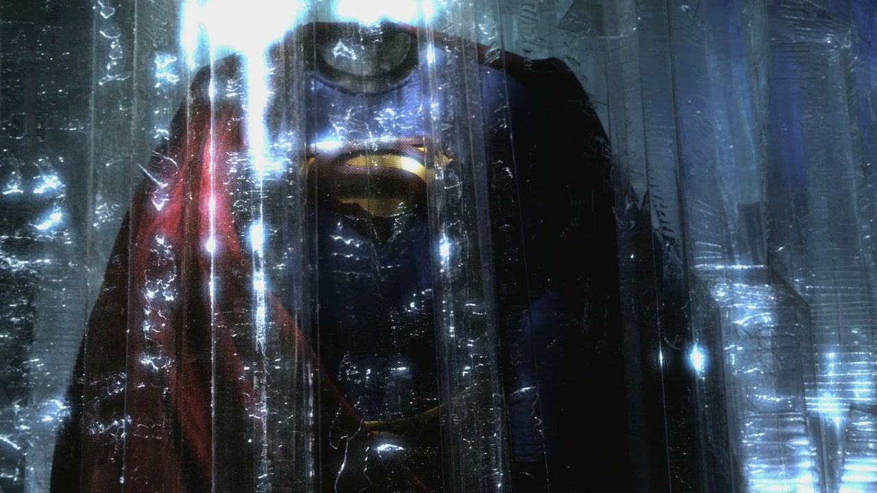 Black Suit Superman Superman Suit Encased in The