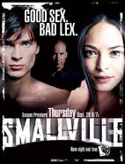 Season 5 poster - Good sex. Bad Lex.