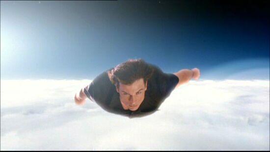 Clark Flying 3