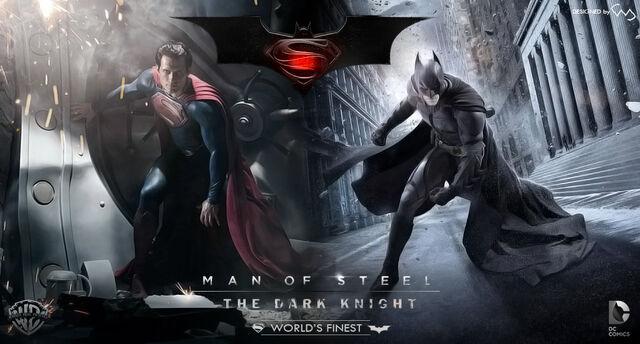 File:Man of steel and the dark knight.jpg