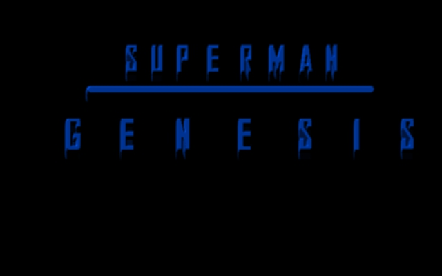 Superman Genesis text
