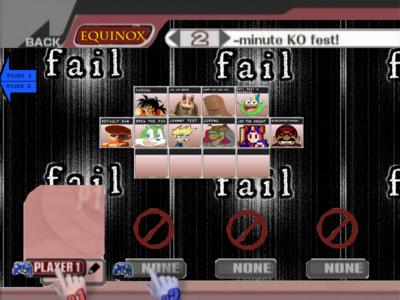 Lawl Equinox Joke Select Screen Named Edition