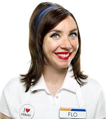 Flo from Progressive Insurance