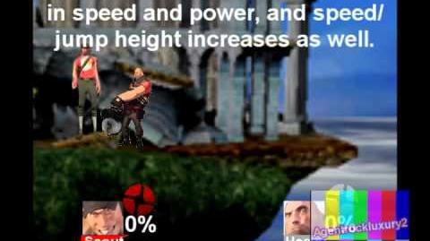 (REUPLOAD) Super Smash Bros Brawl Custom Moveset - Scout