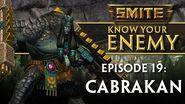 SMITE Know Your Enemy 19 - Cabrakan