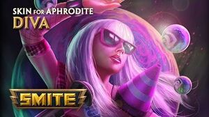 SMITE - New Skin for Aphrodite - Diva