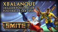 New Xbalanque Skins Jaguar Footballer & Football Star 2014
