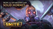 New Ah Muzen Cab Skin Solid Hornet