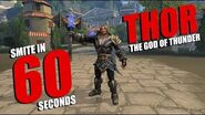 SMITE in 60 Seconds Thor, The God of Thunder
