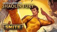 SMITE - New Skin for Mercury - Shaolin Fury