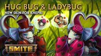 SMITE - New Skins for Khepri - Ladybug & Hug Bug