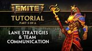 SMITE Tutorial Part 5 - Lane Strategies & Team Communication