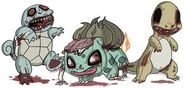 Zombie starter pokemon by jmirman