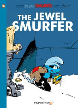 The Jewel Smurfer English Cover