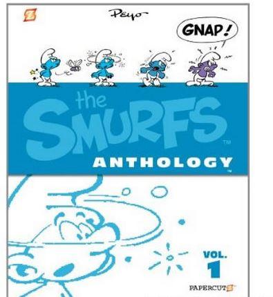 Image result for the smurfs anthology