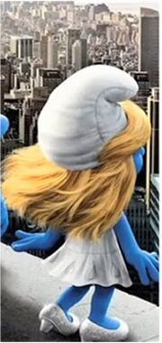 No Tail Smurfette
