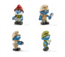 2016 Smurf figurines