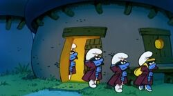 Spy Smurfs Cartoon