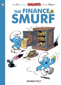 Finance Smurf English Cover