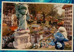 Remodeled Smurf Village