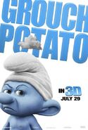 Grouchy Smurf 2011 poster