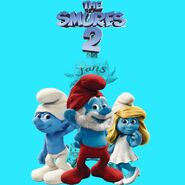 The Smurfs 2 - Worlds International Poster