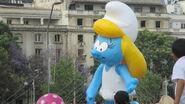 Smurfette Baloon Paris Parade 2015