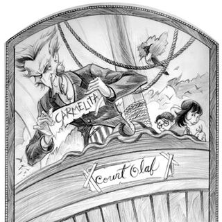 Primary Image: Count Olaf removing the