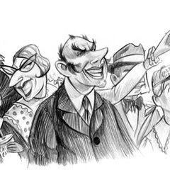 Audience at the Caligari Carnival.