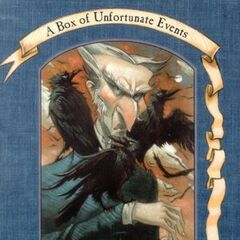 Count Olaf on the cover of <i>The Dilemma Deepens</i>