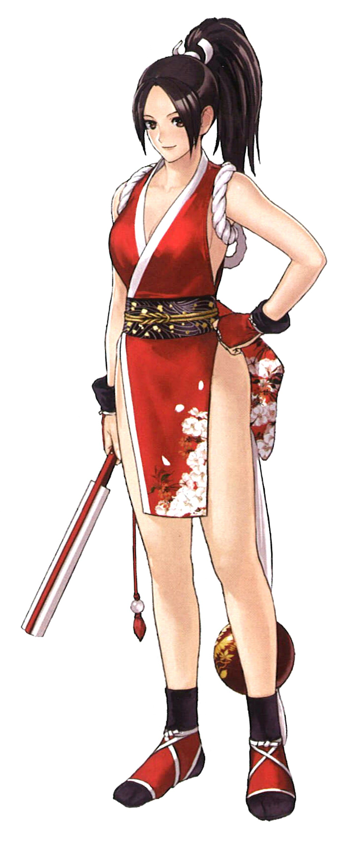 Think, that King of fighters mai shiranui excited too