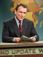 Colin Quinn at the Weekend Update Desk