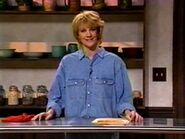 Nancy Walls as Martha Stewart