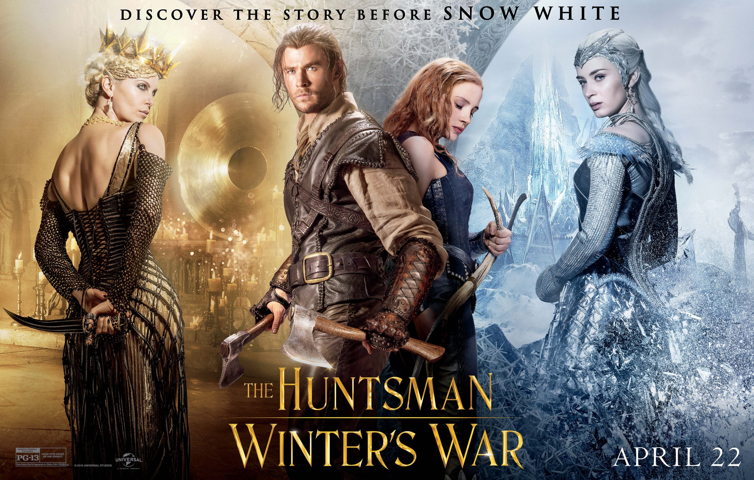 Image result for huntsman winters war poster