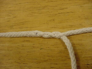 First completed splice