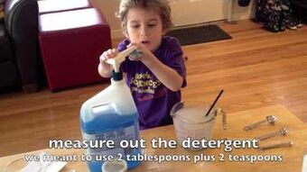 Making Bubble Juice is Child's Play (Rough Cut)
