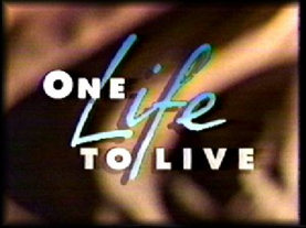 One Life to Live 1992 title card