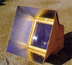 30-60° solar oven