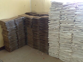 Solar Bereket - CooKits ready for distribution