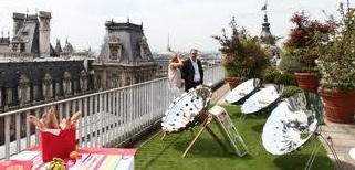 Fichier:ID Cook Paris solar cooking demonstration, 9-24-14.jpg