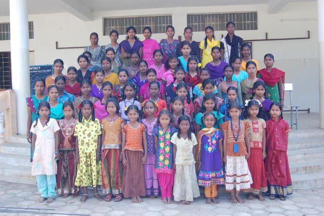 File:Intact School at Kalrayan Hills for tribal children.jpg