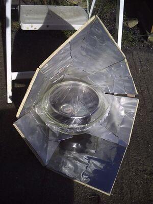 Aluminum can reflector1
