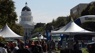 Solar Cooking at Sacramento Farm-to-Fork Festival 2014
