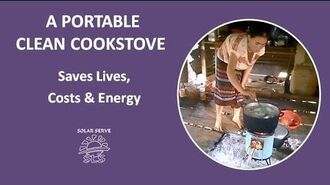 A Portable Clean Cookstove
