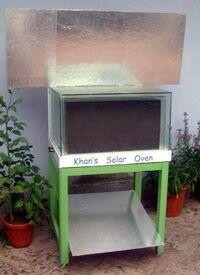 Kahn solar cooker