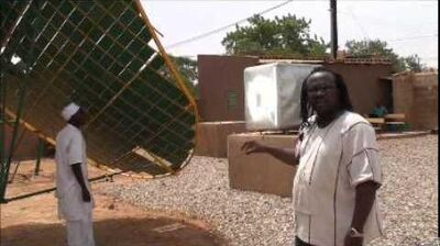 Solar Food Processing in Burkina Faso - William Ilboudo