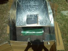 Forno Scatola Trappola Solare 2